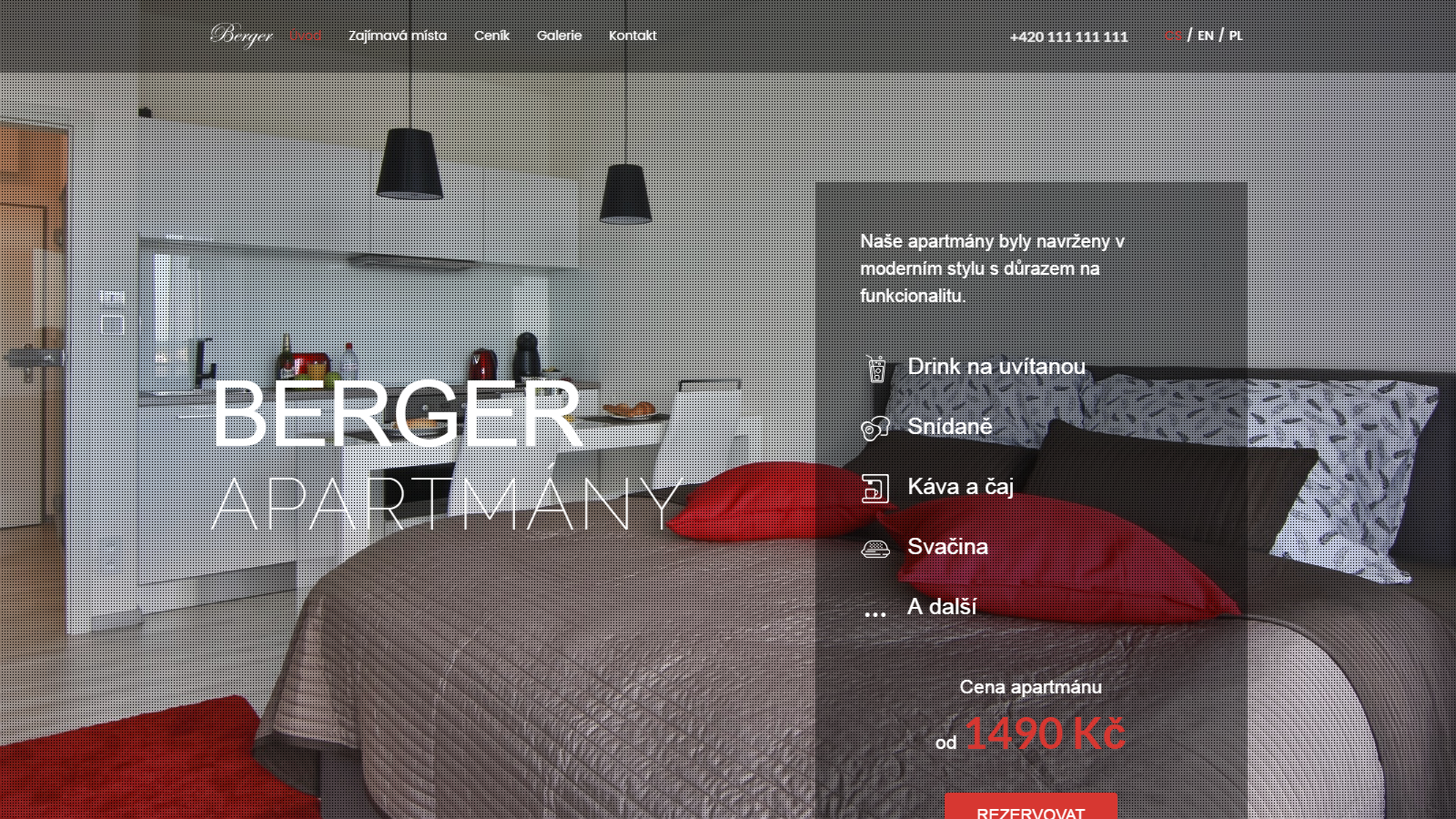 Berger apartmány